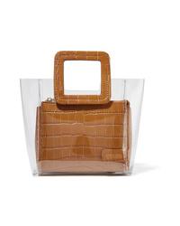 Светло-коричневая кожаная сумочка от Staud