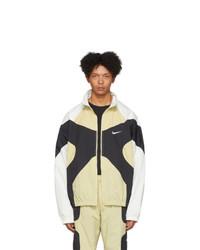 Светло-коричневая куртка харрингтон от Nike