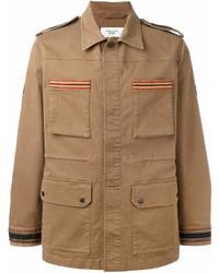 Светло-коричневая полевая куртка