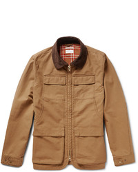 Светло-коричневая полевая куртка от Gant