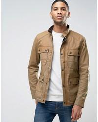 Светло-коричневая полевая куртка от Jack and Jones