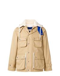Светло-коричневая полевая куртка от MAISON KITSUNÉ