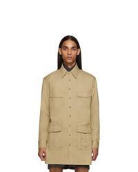 Светло-коричневая полевая куртка от Random Identities