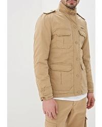 Светло-коричневая полевая куртка от Young & Rich