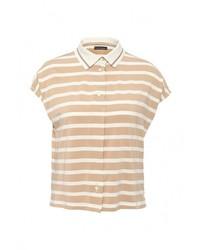 Женская светло-коричневая рубашка поло от Pennyblack