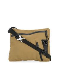 Светло-коричневая сумка почтальона из плотной ткани от As2ov