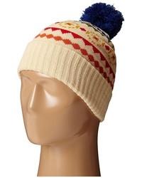 Светло-коричневая шапка