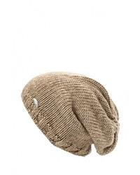 Мужская светло-коричневая шапка от CAPO