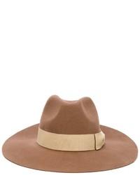Женская светло-коричневая шерстяная шляпа от Paul Smith
