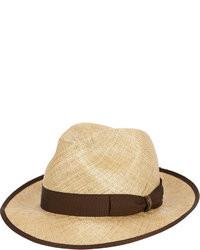 Светло-коричневая шляпа