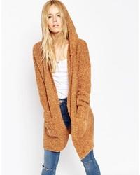Женское светло-коричневое вязаное пальто от Asos
