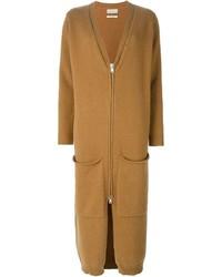 Женское светло-коричневое вязаное пальто от Libertine-Libertine