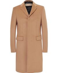 Мужское светло-коричневое длинное пальто от Burberry