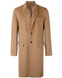 Светло-коричневое длинное пальто от Joseph
