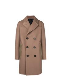 Светло-коричневое длинное пальто от Lanvin