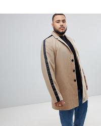 Светло-коричневое длинное пальто от Sixth June