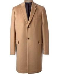 Светло-коричневое длинное пальто от Valentino