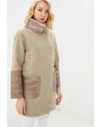 Женское светло-коричневое пальто от Beatris