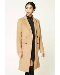 Женское светло-коричневое пальто от Forever 21