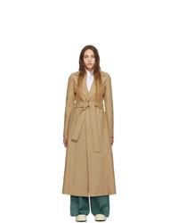 Женское светло-коричневое пальто от Harris Wharf London