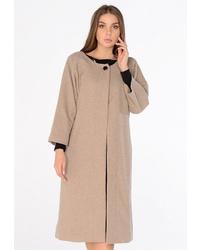 Женское светло-коричневое пальто от Katerina Bleska & Tamara Savin