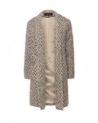 Женское светло-коричневое пальто от LOST INK