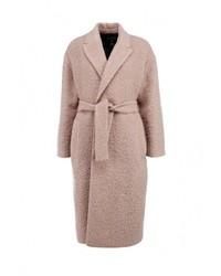 Женское светло-коричневое пальто от MSGM