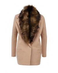 Женское светло-коричневое пальто от River Island