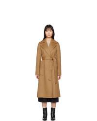 Женское светло-коричневое пальто от The Loom