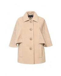 Женское светло-коричневое пальто от Спартак