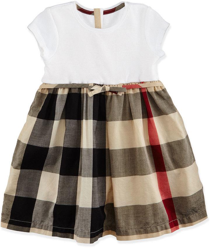Платья для девочек коричневые