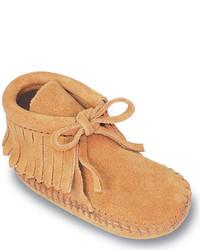 Светло-коричневые ботинки