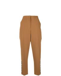 Женские светло-коричневые брюки-галифе от N°21