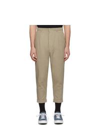 Светло-коричневые брюки чинос от AMI Alexandre Mattiussi