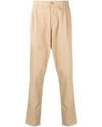 Светло-коричневые брюки чинос от Aspesi