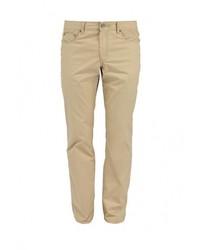 Светло-коричневые брюки чинос от Baon