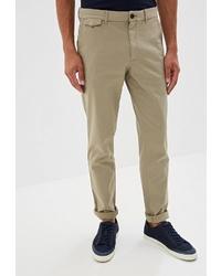 Светло-коричневые брюки чинос от Calvin Klein