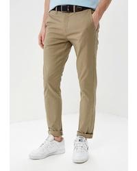 Светло-коричневые брюки чинос от Celio