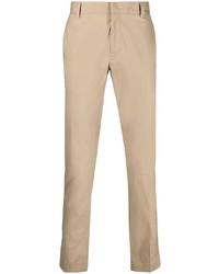 Светло-коричневые брюки чинос от Daniele Alessandrini