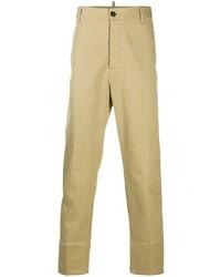 Светло-коричневые брюки чинос от DSQUARED2