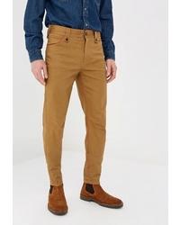 Светло-коричневые брюки чинос от Elijah & Sims