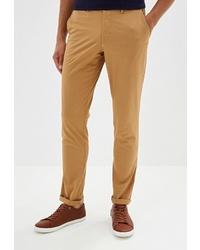Светло-коричневые брюки чинос от Galvanni
