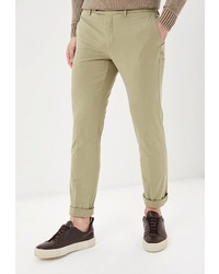 Светло-коричневые брюки чинос от Hackett London