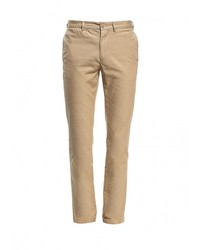 Светло-коричневые брюки чинос от Lacoste