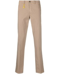 Светло-коричневые брюки чинос от Manuel Ritz