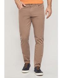 Светло-коричневые брюки чинос от MOSSMORE