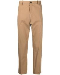 Светло-коричневые брюки чинос от Nine In The Morning