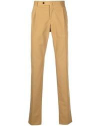 Светло-коричневые брюки чинос от Pt01