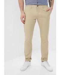 Светло-коричневые брюки чинос от Tom Farr