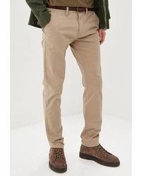 Светло-коричневые брюки чинос от Tom Tailor